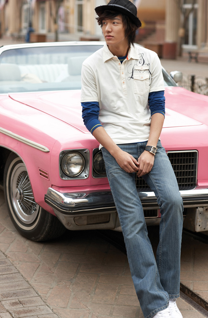 Lee Min Ho for Levi Strauss, Spring '09