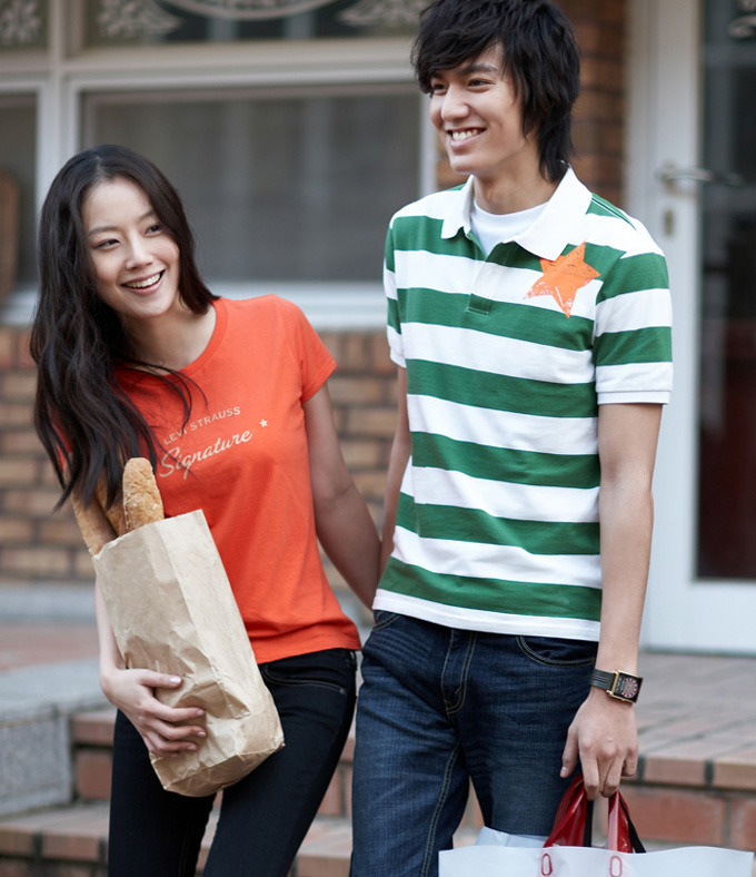 Moon Chae Won & Lee Min Ho for Levi Strauss, Spring '09
