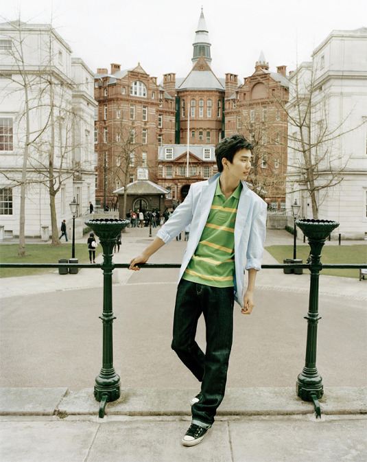 Yoo Seung Ho for Bean Pole, Summer '09