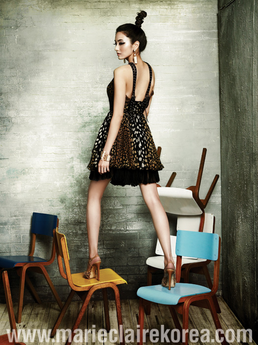 Han Chae Young in Marie Claire (5/09)