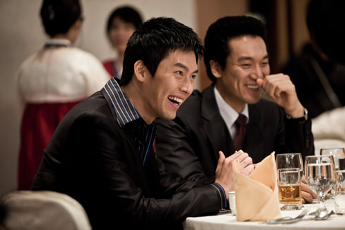 Hyun Bin & Kim Min Joong in Friends