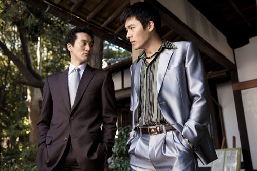 Kim Min Joong & Hyun Bin in Friends, Our Legend