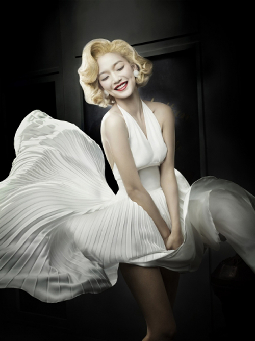 Shin Mina as Marilyn Monroe