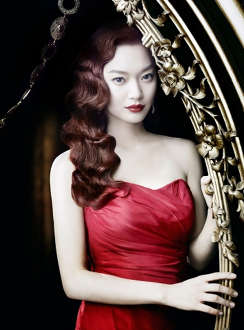 Shin Mina as Nicole Kidman in Moulin Rouge