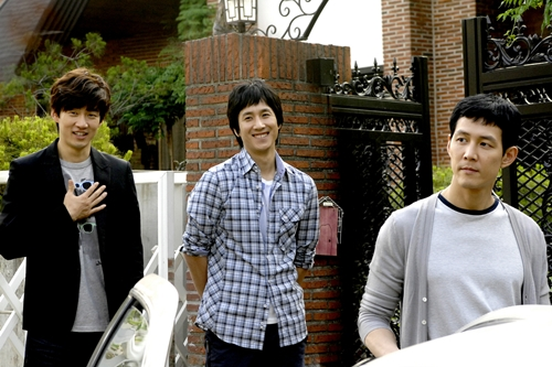 Yoon Kye Sang, Lee Sun Kyun, Lee Jung Jae in Triple