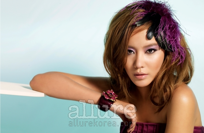 Kim A Joong in Allure (8/09)