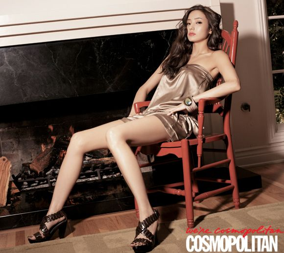Han Chae Young in Cosmopolitan (7/09)