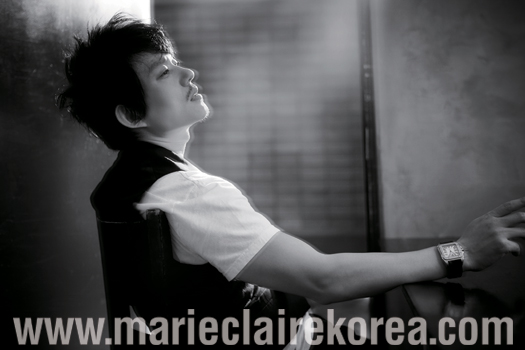 Lee Bum Soo in Marie Claire (7/09)
