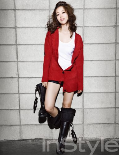 Moon Chae Won in InStyle (8/09)