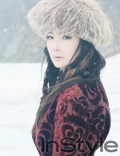 Choi Ji Woo in InStyle (9/09)